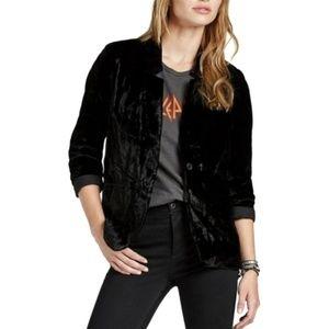 Lucky Brand Velvet Jacket size M
